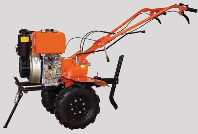Σκαπτικό με πετρελαιοκινητήρα. Μοτοτσάπα 10 hp KRAFT