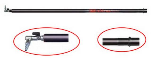 Σταθερή προέκταση Extra Light 200cm με βανάκι.