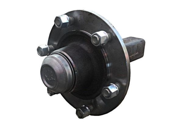 Μουαγιέ, άκρο άξονα ⧄60x200mm με σύνδεση τροχού 160/205/6 M18x1.5